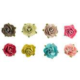 Sugar Bloom Glitter Paper Flower Embellishments
