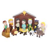 Children's Nativity Play Set
