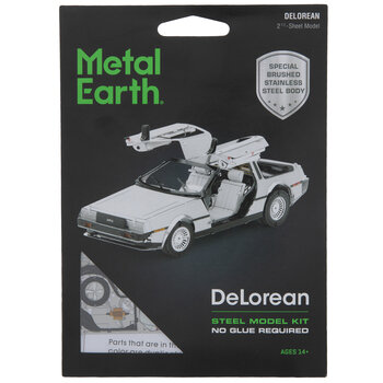 DeLorean 3D Model Kit