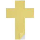 Cross Sticky Paper Shapes