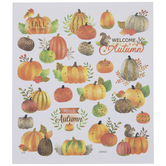 Gold Glitter Autumn Stickers