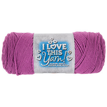Hot Orchid I Love This Yarn