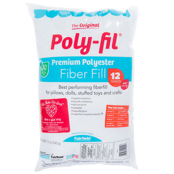 Premium Polyester Fiberfill - 12 Ounce