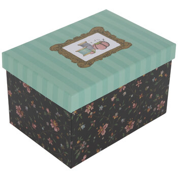 Floral Sewing Storage Box
