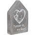 Forever In My Heart Cat Decor