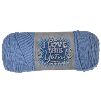 Medium Blue I Love This Yarn