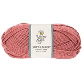 Mauve Yarn Bee Soft & Sleek Yarn