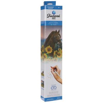 Sunflower Horse Diamond Art Advanced Kit