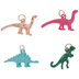 Bright Dinosaur Charms