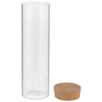 Cylinder Glass Jar - 4 Ounce