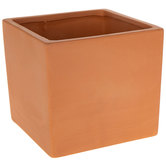 Square Terra Cotta Pot - Large