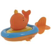 Whale Pull String Water Boat