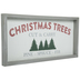 Christmas Trees Wood Wall Decor