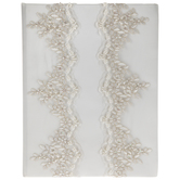 Ivory Floral Lace Memory Book