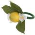 Lemon Blossom Napkin Ring