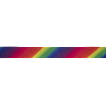 Rainbow Double Fold Bias Tape