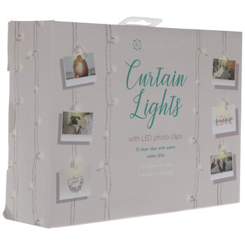 LED Curtain Lights With Clips
