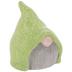 Green Hat Gnome Head