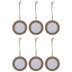 Round Picture Frame Ornaments