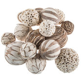 Natural & Tan Decorative Spheres