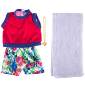California Dreamin' Top & Shorts Doll Outfit