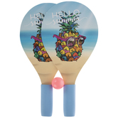 Hello Summer Pineapple Ping Pong Paddles