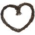 Natural Rattan Heart