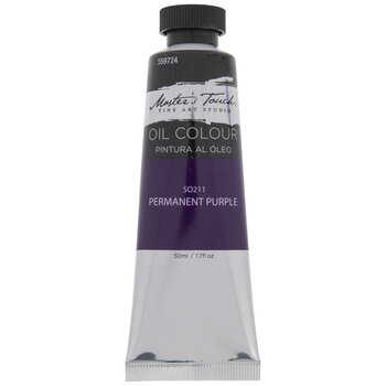 Permanent Purple Master's Touch Oil Paint - 1.7 Ounce