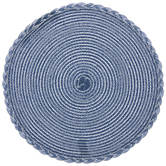 Blue & White Round Placemats