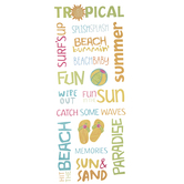 Summer Word Stickers