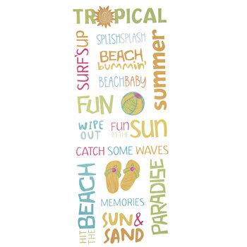 Summer Word Stickers