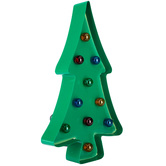 Christmas Tree Metal LED Decor