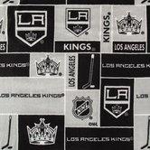 NHL Los Angeles Kings Block Fleece Fabric