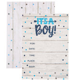 It's A Boy Invitations