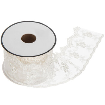 Nylon Net Lace Trim - 1 3/4""