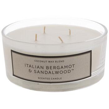 Italian Bergamot & Sandalwood Jar Candle