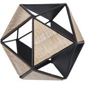 Geometric Metal Decorative Sphere