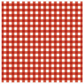 "Red XL Gingham Scrapbook Paper - 12"" x 12"""
