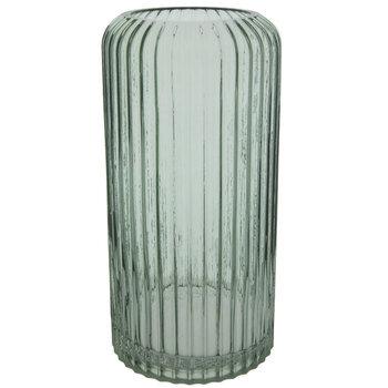 Lined Glass Vase