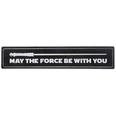 May The Force Be With You Wood Wall Decor