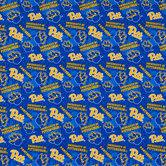 Pittsburgh Allover Collegiate Cotton Fabric