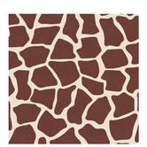 """Giraffe Print Scrapbook Paper - 12"""" x 12"""""""