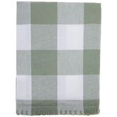Green Buffalo Check Cloth Napkin