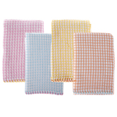 Multi-Color Waffle Kitchen Towels