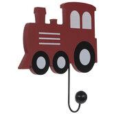 Train Locomotive Wood Wall Hook