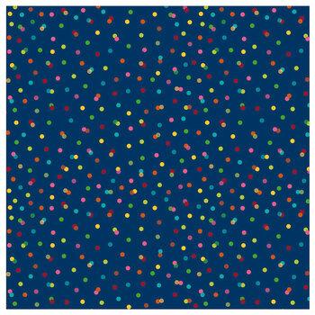 """Birthday Confetti Scrapbook Paper - 12"""" x 12"""""""