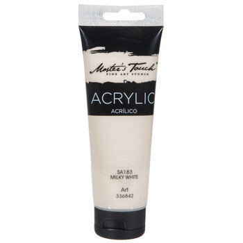Milky White Master's Touch Acrylic Paint - 4.1 Ounce