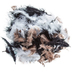 Black & White Guinea Fluff Mix