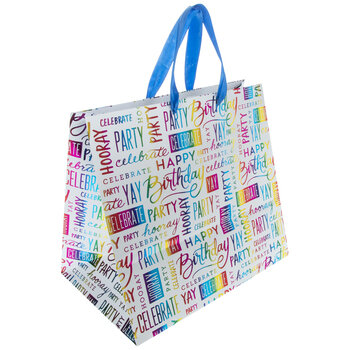 Happy Birthday Rainbow Foil Gift Bag