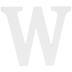 White Wood Letter W - 3